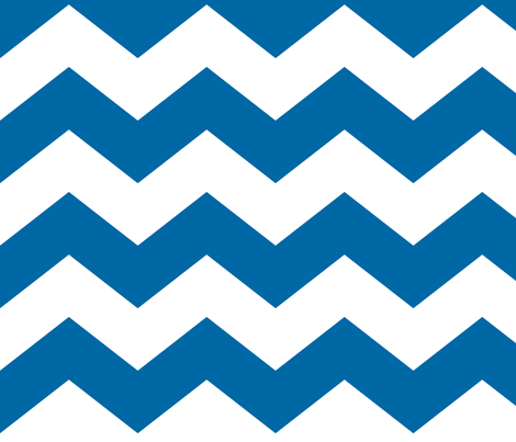 chevron lg royal blue fabric by misstiina on Spoonflower - custom fabric