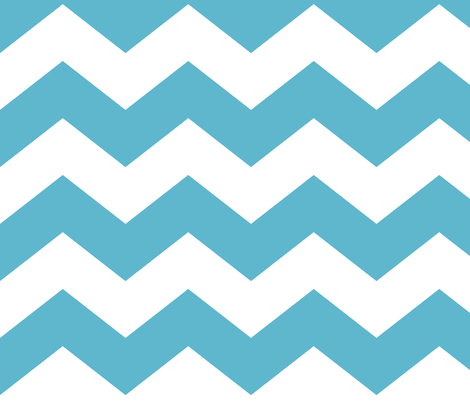 chevron lg blue and white fabric by misstiina on Spoonflower - custom fabric