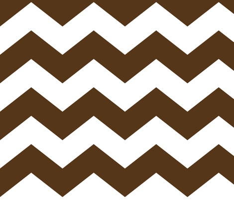 chevron lg brown fabric by misstiina on Spoonflower - custom fabric