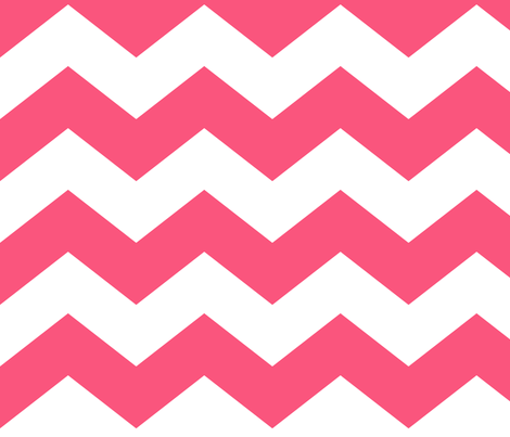 chevron lg hot pink fabric by misstiina on Spoonflower - custom fabric