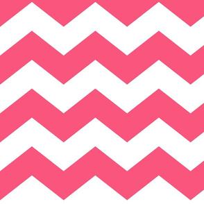 chevron lg hot pink