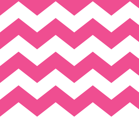 chevron lg dark pink and white fabric by misstiina on Spoonflower - custom fabric