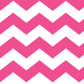 chevron lg dark pink and white