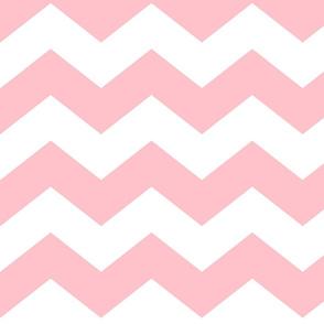 chevron lg light pink