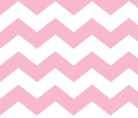 chevron lg light pink and white fabric by misstiina on Spoonflower - custom fabric