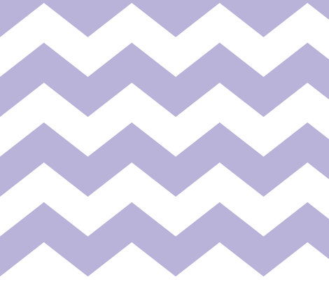 chevron lg light purple and white fabric by misstiina on Spoonflower - custom fabric