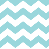 chevron lg teal and white