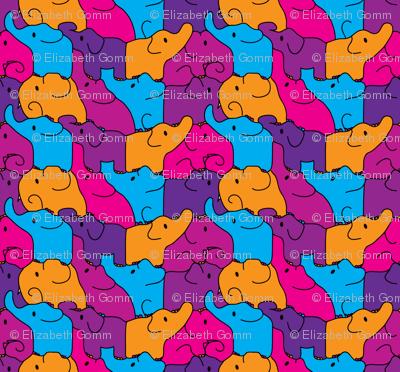 Pink Elephant Jigsaw