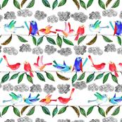 amour d oiseau sur la branche L