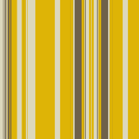 Gold Khaki Linen Stripe fabric by marie_s on Spoonflower - custom fabric