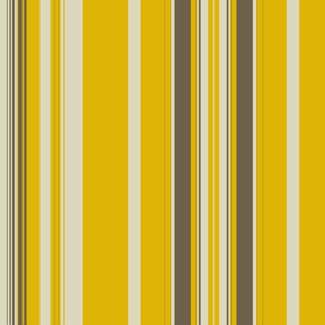 Gold Khaki Linen Stripe