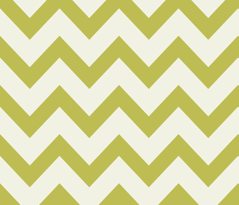 chevron april rain - green fabric by ravynka on Spoonflower - custom fabric