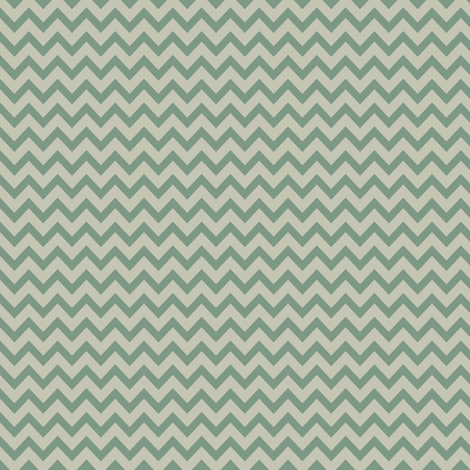 mini chevron - gray & laurel green fabric by ravynka on Spoonflower - custom fabric