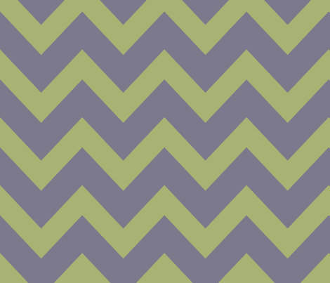 chevron - celadon & pale purple fabric by ravynka on Spoonflower - custom fabric