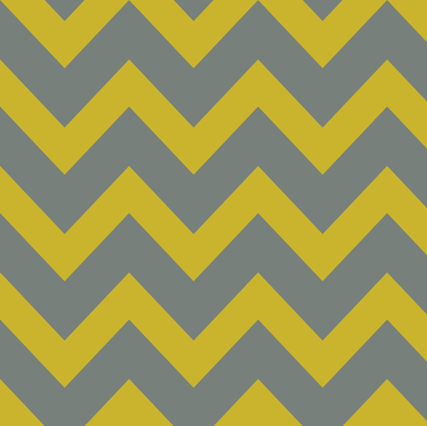 chevron - gold & gray fabric by ravynka on Spoonflower - custom fabric