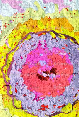 Map of the Moon - Copernicus