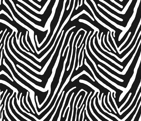 zebra fabric by audettesa on Spoonflower - custom fabric