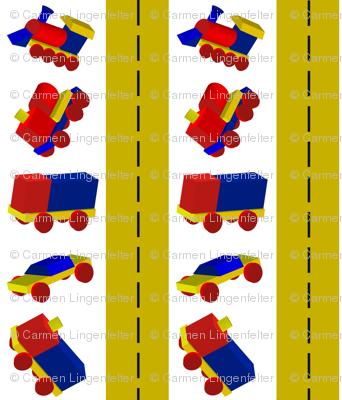 Block Trucks with Roadways