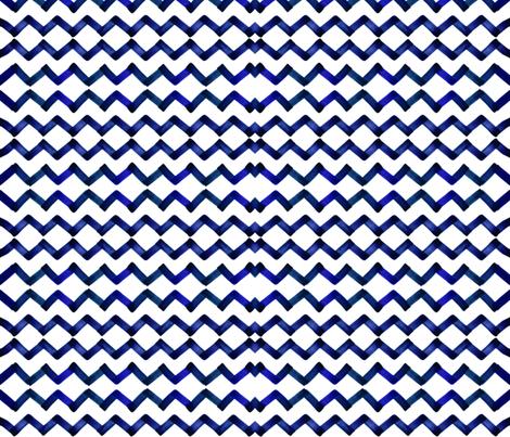 cestlaviv_Emily navy blue fabric by cest_la_viv on Spoonflower - custom fabric