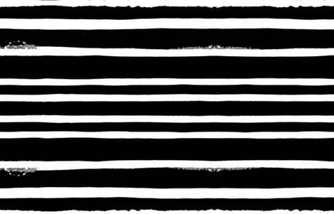 cestlaviv_ultrablack stripes fabric by cest_la_viv on Spoonflower - custom fabric