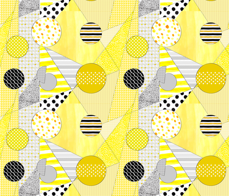 Honey Bee fabric by abbyg on Spoonflower - custom fabric