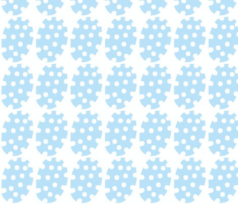 Spotty Dot (lt sky) fabric by pattyryboltdesigns on Spoonflower - custom fabric