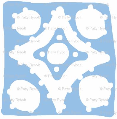 Spotty Diamond Tile (blue)
