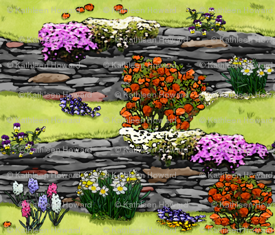 Spring_Time_Wall_Garden_Cc