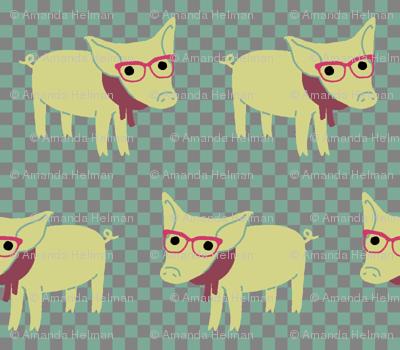 Hipster Piglet