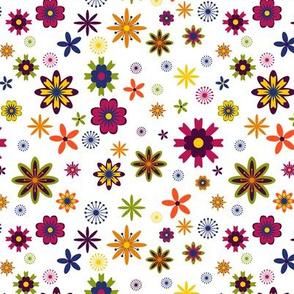 Oober Bright Flowers