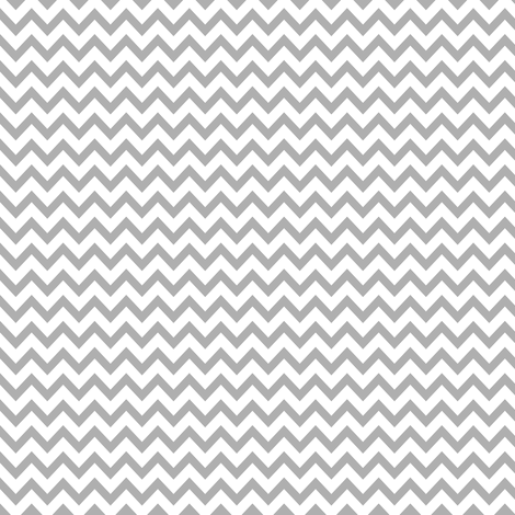 mini chevron - gray & white fabric by ravynka on Spoonflower - custom fabric