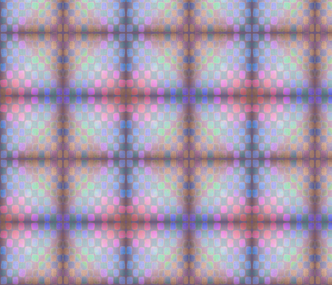 water_check dark mirror fabric by glimmericks on Spoonflower - custom fabric
