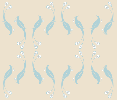 Peacock fabric by tscho on Spoonflower - custom fabric