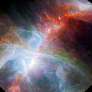 Orion Nebula, infrared