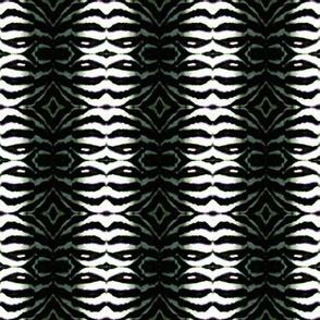 Zebra 01 Faux Fur Print by Debra Cortese
