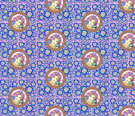 Multicolour_Medusa_Snake_Print fabric by chucklebug5 on Spoonflower - custom fabric
