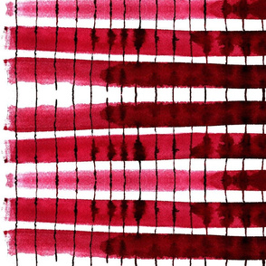 cestlaviv_kitchen stripes red
