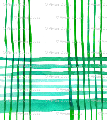 cestlaviv_new Green Onions (kitchen plaid 3)