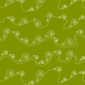 yellowish green waves2