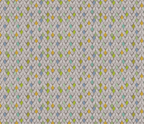 Some Days are Diamonds fabric by femiford on Spoonflower - custom fabric