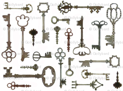 Boboli Keys - Florentine Collection