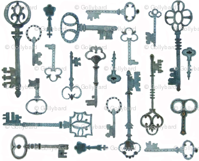 Pitti Keys - Florentine Collection