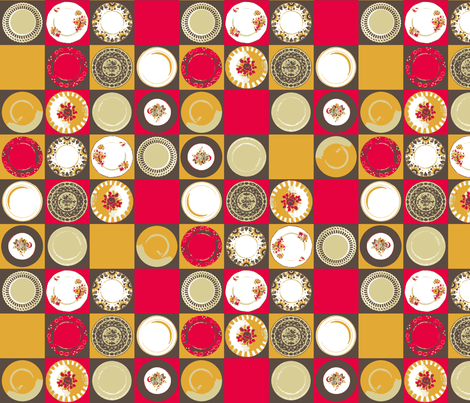 Use the good china! fabric by haleystudio on Spoonflower - custom fabric