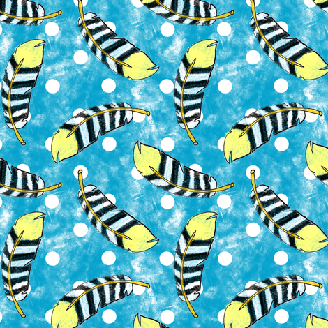 Noccalula's birdsong fabric by shannonkornis on Spoonflower - custom fabric