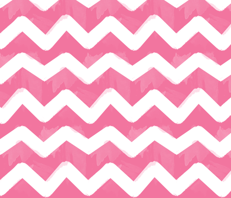 Painted Chevrons fabric by natitys on Spoonflower - custom fabric
