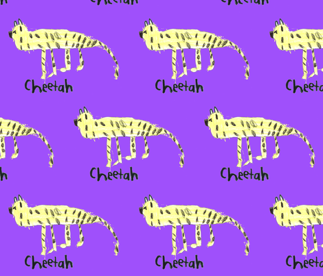 Cheetah fabric by serenity_ii on Spoonflower - custom fabric