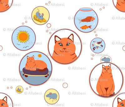 Cat reverie