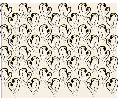 pinguinos fabric by mec on Spoonflower - custom fabric