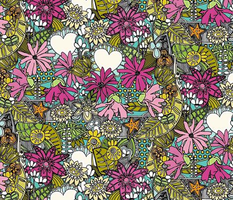 fantastical stellata fabric by scrummy on Spoonflower - custom fabric
