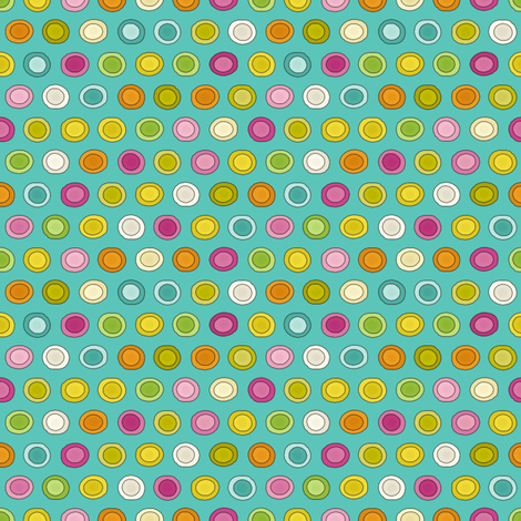 stellata funky mini spot fabric by scrummy on Spoonflower - custom fabric